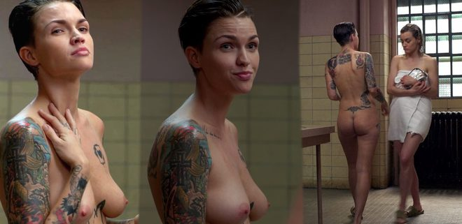 Free Preview Of Ruby Rose Naked In Around The Block