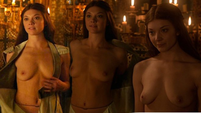 Natalie Dormer Totally Naked Shows Her Tits In Game Of Thrones At