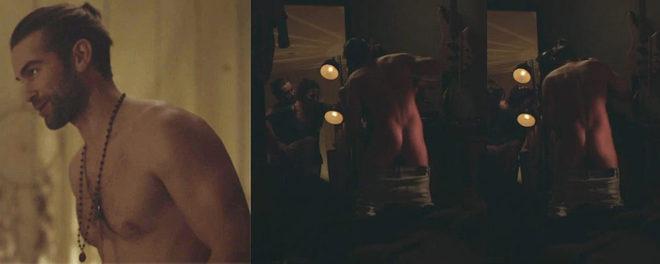 Ebony old women naked ass