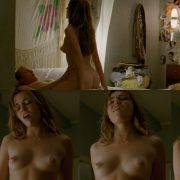 Rose Leslie Shows Her Breasts On Sticky Notes At Movienco