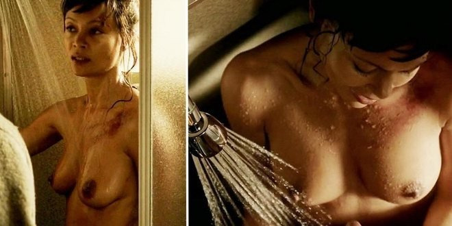 Thandie Newton Shows Her Tits In Rogue At Movienco