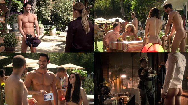 Tom Ellis gets naked a lot in season 4 of 'Lucifer'