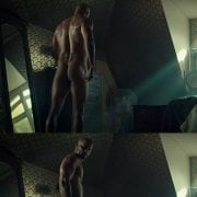 Ricky Whittle naked showing his butt in 'American Gods'