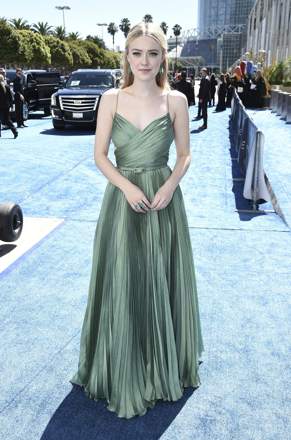Dakota Fanning at the Emmys 2018