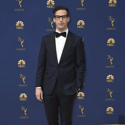 Andy Samberg at the Emmys 2018 red carpet
