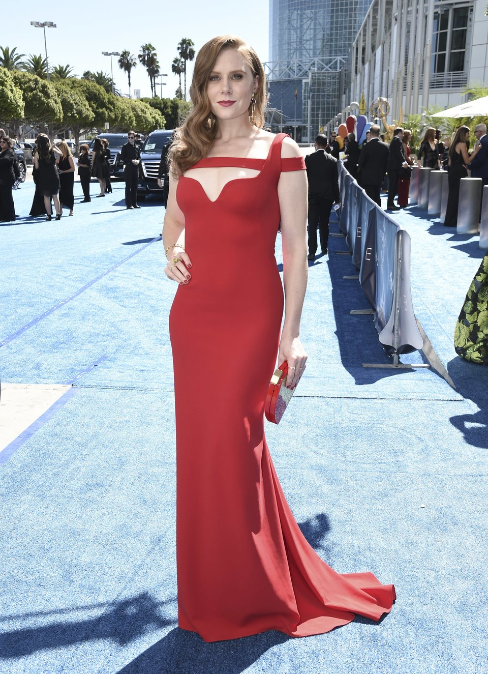 Christiane Seidel on the red carpet at the Emmys 2018
