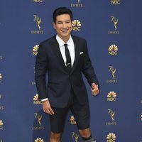 Mario Lopez at the Emmys 2018 red carpet