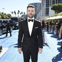 Justin Timberlake at the Emmys 2018 red carpet