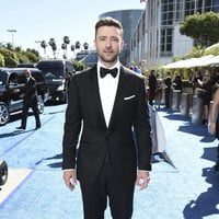 Justin Timberlake at the Emmys 2018 red carpet