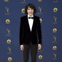 Finn Wolfhard at the Emmys 2018 red carpet