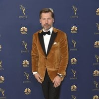 Nikolaj Coster-Waldau at the Emmys 2018 red carpet