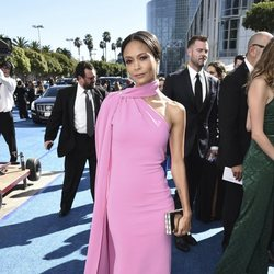 Thandie Newton at the Emmys 2018 red carpet