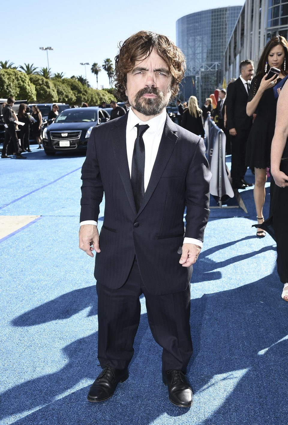Peter Dinklage at the Emmys 2018 red carpet