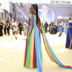 Tiffany Haddish on the red carpet at the Emmys 2018
