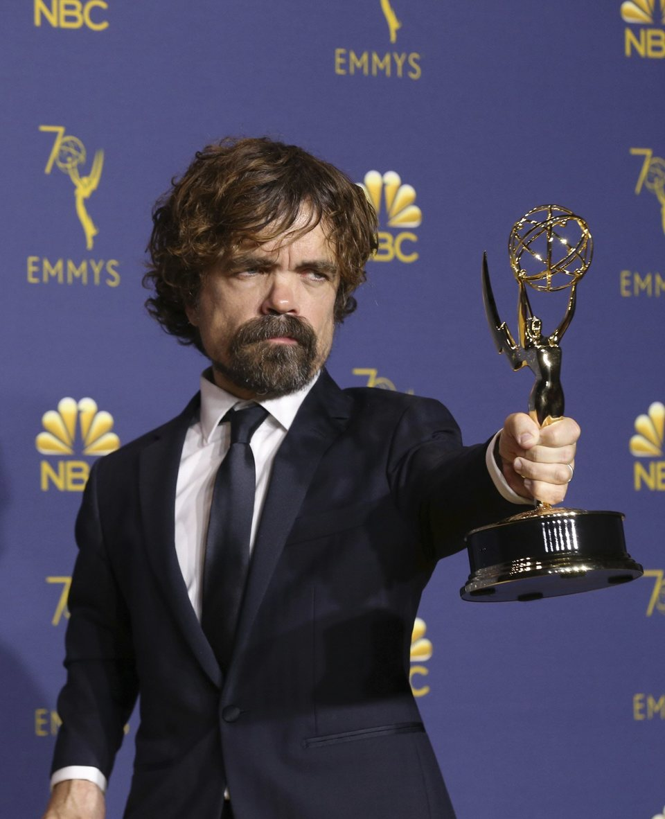 Peter Dinklage, Emmy Winer for Best Supporting Actor in Drama Series for 'Game of Thrones'