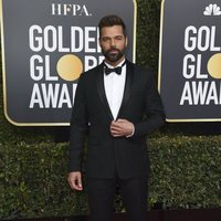 Ricky Martin at the Golden Globes 2019 red carpet