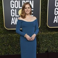 Amy Adam at the Golden Globes 2019 red carpet