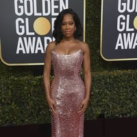 Regina King at the Golden Globes 2019 red carpet