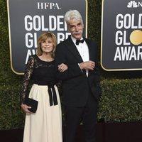 Sam Elliott and Katharine Ross on the red carpet at the Golden Globes 2019