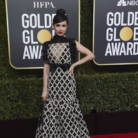 Sofia Carson at the Golden Globes 2019 red carpet