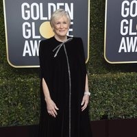 Glenn Close at the Golden Globes 2019 red carpet