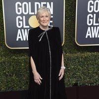 Glenn Close at the Golden Globes 2019 red carpet