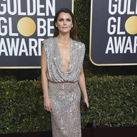 Keri Russell on the red carpet at the Golden Globes 2019