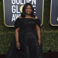 Octavia Spencer at the Golden Globes 2019 red carpet