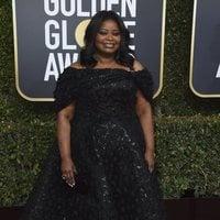 Octavia Spencer at the Golden Globes 2019 red carpet