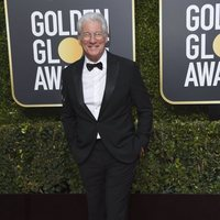 Richard Gere at the Golden Globes 2019 red carpet