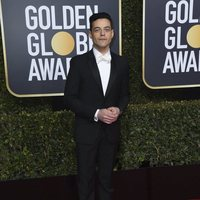 Rami Malek on the red carpet at the Golden Globes 2019