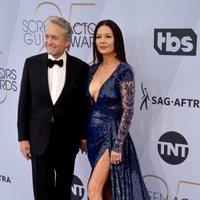 Michael Douglas and Catherine Zeta-Jones at the 2019 SAG Awards