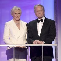 Glenn Close and Michael Douglas at the 2019 SAG Awards