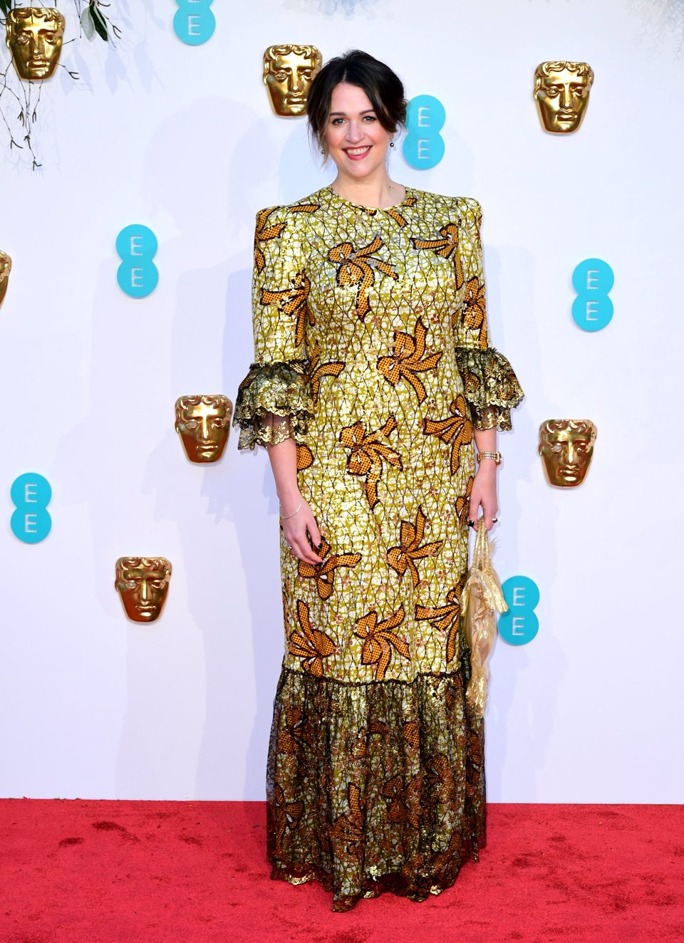 Sophie Harman at the BAFTAs 2019 Red Carpet