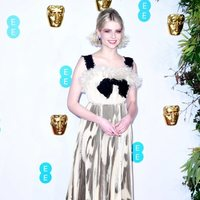Lucy Boynton on the red carpet of BAFTA 2019