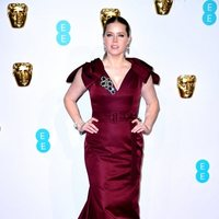 Amy Adams at the BAFTAs 2019 red carpet