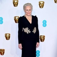 Glenn Close at the BAFTAs 2019 Red Carpet