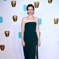 Claire Foy  at the BAFTAs 2019 Red Carpet