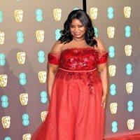 Octavia Spencer at the BAFTAs 2019 Red Carpet