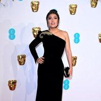 Salma Hayek at the BAFTAs 2019 Red Carpet
