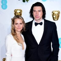 Adam Driver and Joanne Tucker at the BAFTAs 2019 Red Carpet