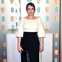 Olivia Colman at the BAFTAs 2019 Red Carpet