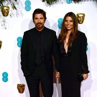 Christian Bale and Sibi Blazic at the BAFTAs 2019 Red Carpet