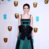 Rachel Brosnahan at the BAFTAs 2019 red carpet