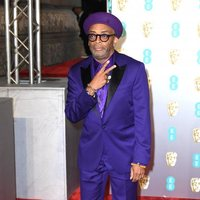 Spike Lee at the BAFTAs 2019 red carpet