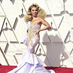 Shangela at the Oscars 2019 red carpet