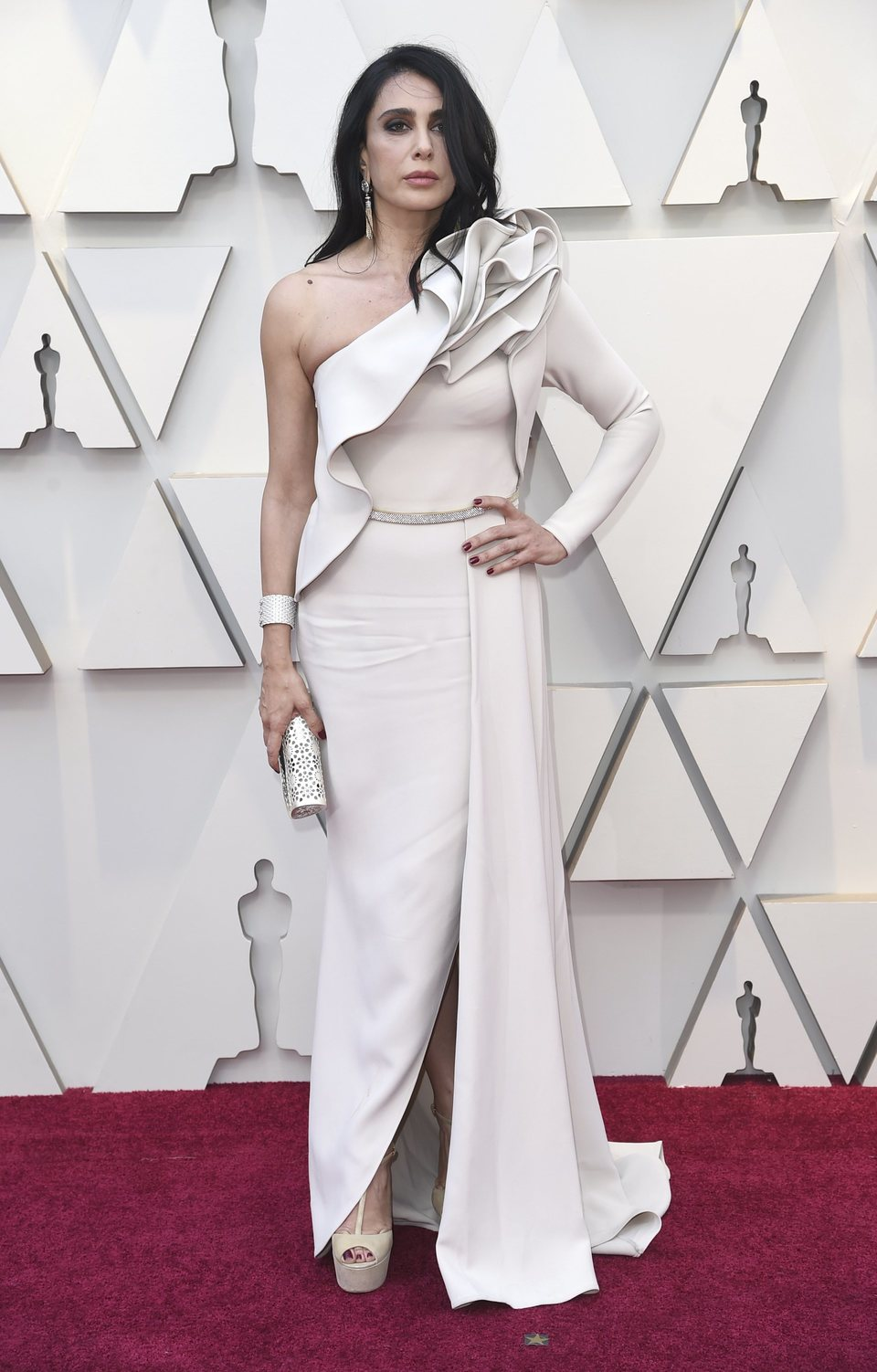 Nadine Labaki at the Oscars 2019 red carpet