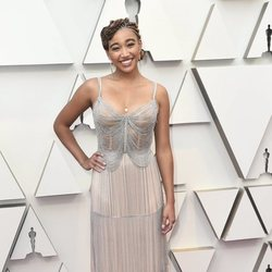 Amandla Stenberg at the Oscars 2019 red carpet