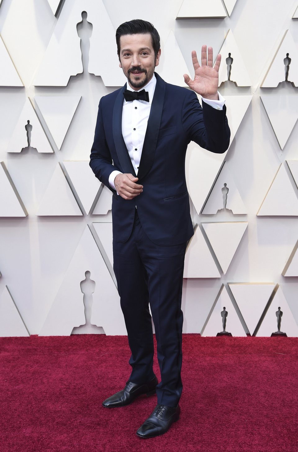Diego Luna at the Oscars 2019 red carpet