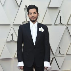 Adam Lambert on the red carpet at the Oscars 2019